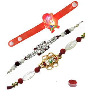 Delightful Combination of Kids  Bhaiya Rakhis