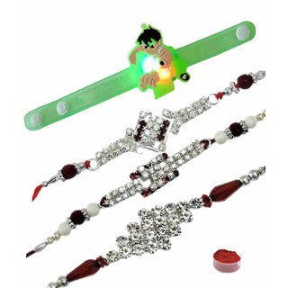 Special Set of 4 Kids  Bhaiya Rakhis