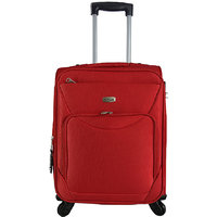 Timus Upbeat Spinner 55cm Red Strolley Suitcase For Travel