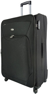 Timus Upbeat Spinner 79Cm Black Strolley Suitcase For Travel