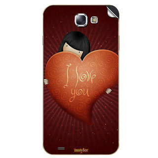 Instyler Mobile Skin Sticker For Karbonn Titanium S5 MSKARBONNTITANIUMS5DS10127