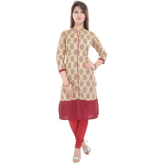 Beautiful  Cotton Maroon Kurti From the house Of Gujari