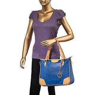 Cappuccino Blue Stylish Hand bag