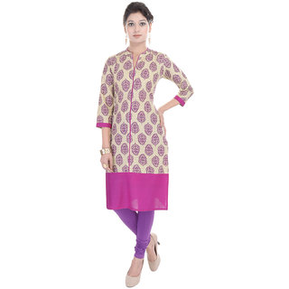 Beautiful Cotton Pink Kurti From The House Of Gujari