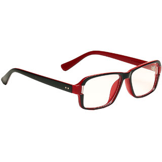 Blue-Tuff Unisex Clear Lens Frame-5151(C3)GREENRED