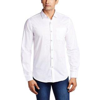 Mens White  Casual Shirt