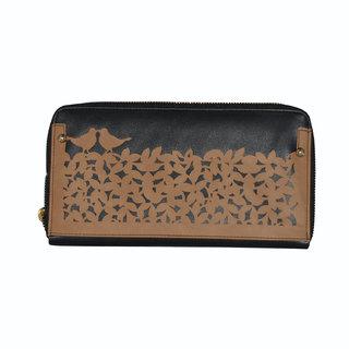 Doro Handy Metalzip Lock Wallet (Brown)