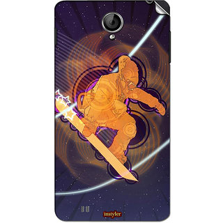 Instyler Mobile Skin Sticker For Karbonn A111
