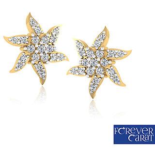 0.25ct Certified Natural Diamond Earring Stud 14k Hallmark Gold Earrings ER-0207