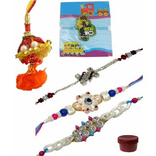 Set of 5 Remarkable Kids  Exclusive Rakhi Lumba