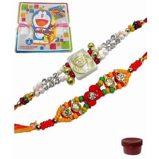Exciting Rakhi Set of 3 Kids  Bhaiya Rakhis