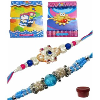 Nice-looking Kids  Bhaiya Rakhi Set of 4