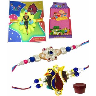 Brilliant Rakhi Set of 4