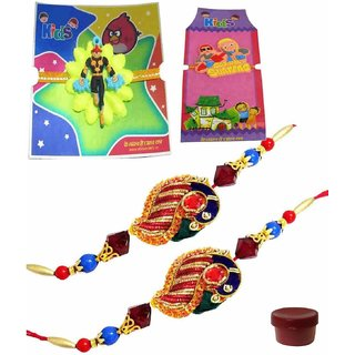 Gratifying Assortment of Rakhi Set