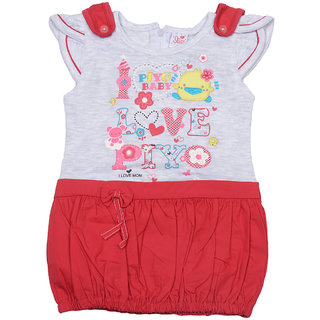 I Love Mom Red 6  12 Months Girls Tops  Bottoms Sets