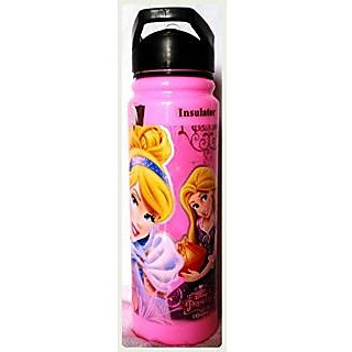 Ski Disney Barbie 800 ML Insulated Sipper Water Bottle