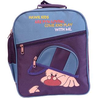 RSC Polyster Stylish Cap School Bag Blue 1222
