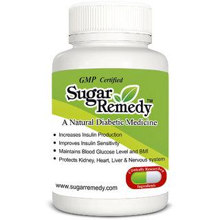 SUGAR REMEDY - A NATURAL DIABETIC MEDICINE 60 CAPS.