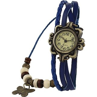 DS Collection viser blue Analog Watch - For Girls