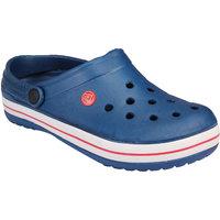 Clymb Mens Blue,White Slip on Floaters