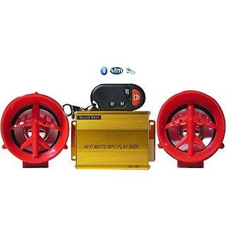 SoundBoss Motobike MP3 PLAYER WITH BLUETOOTH Bike Stereo System