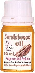 Fragrance And Fashion Sandalwood Essential In 50 Ml (50 Ml)