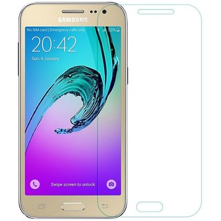Heartly Protective 9H Hardness Nanometer Anti Explosion Tempered Glass Screen Guard Protector For Samsung Galaxy J2 SM-J