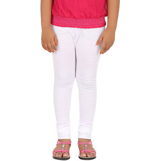 BELONAS Girls White Leggings