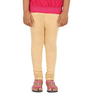 BELONAS Girls Golden Yellow Leggings