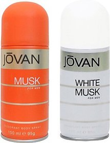 Jovan Musk And White Musk Combo Set (Set Of 2)