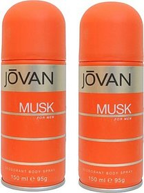 Jovan Musk And Musk Combo Set (Set Of 2)