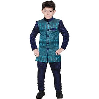 Kute Kids Baby Boys Kurta and Pyjama Se