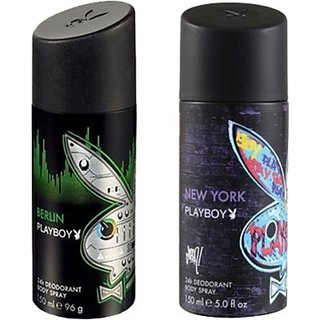 Playboy Berlin And New York Combo Set (Set Of 2)