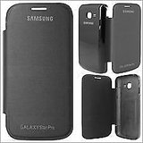 Black Flip Cover Case For Samsung Galaxy Star Pro S7262