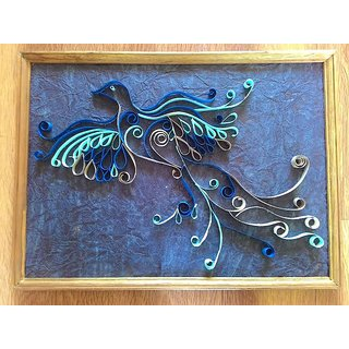Hand made Quilling art frame