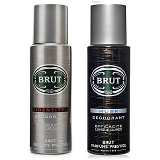 Brut Identity Musk Body Spray - For Men (200 Ml)