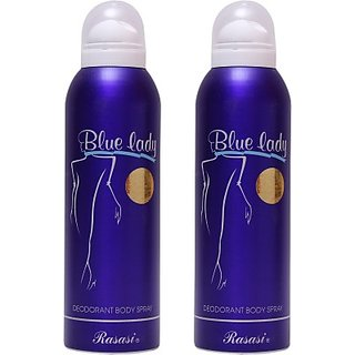 Rasasi Blue Lady Combo Set (Set Of 2)
