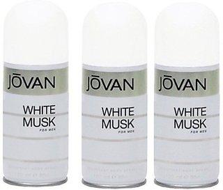 Jovan Iovan White Musk Deodorant Spray Men-150-Ml Body Spray - For Boys, Men (150 Ml)