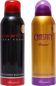 Rasasi Chastity MenChastity Women Combo Set (Set Of 2)
