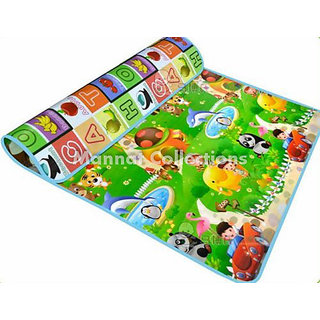 Baby Crawling Mat, Baby Play Mat, Kids Safety Mat (Large Double Sided)