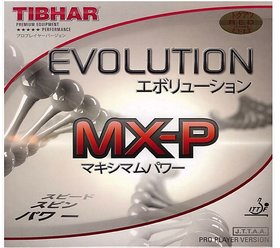 Tibhar Evolution MX-P - Table Tennis Rubber - RED (max)- Genuine Imported Rubber