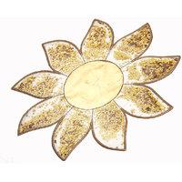 Srajanaa Gold Center Table Mat