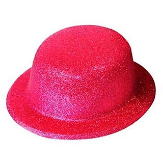 Party Hat Glitter-Pink (Pack of 5)