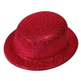 Party Hat Glitter-Red (Pack of 5)