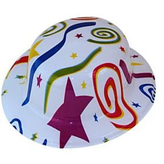 Plastic Party Hat Ribbions (Pack of 5)