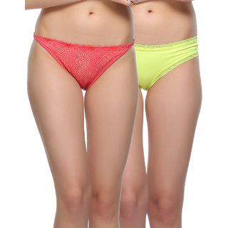 Clovia Pack Of 2 Panty-Combopn84