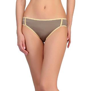 Clovia Polyamide Bikini In Grey -Pn0448P01