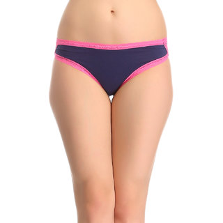 Clovia Panty In Navy -Pn0507P08