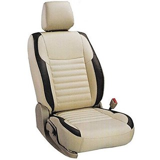 Khushal Leatherettecar Seat Cover Safari