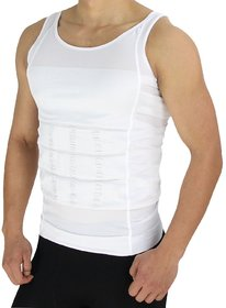 Abrdeen MenS Shaping Vest In White